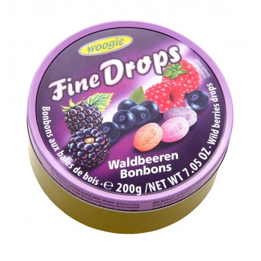 Bonbony s příchutí lesního ovoce 200g Woogie