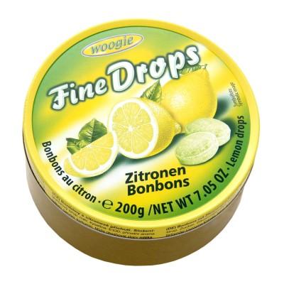 Bonbony s citronovou příchutí 200g Woogie
