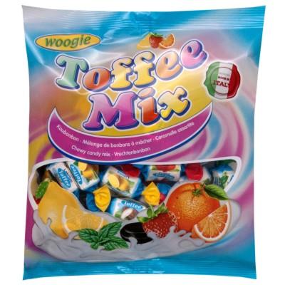 Žvýkací bonbony Toffee mix 250g Woogie
