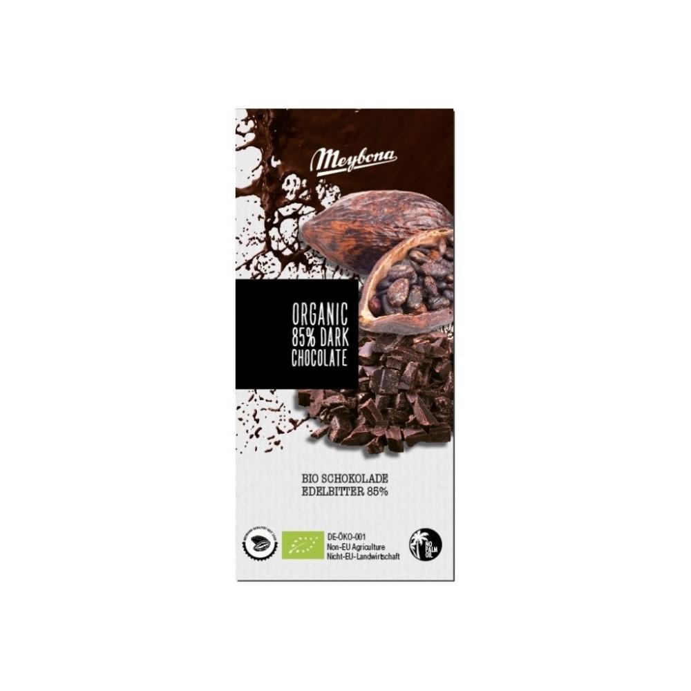 Bio čokoláda hořká 85% 100g Meybona