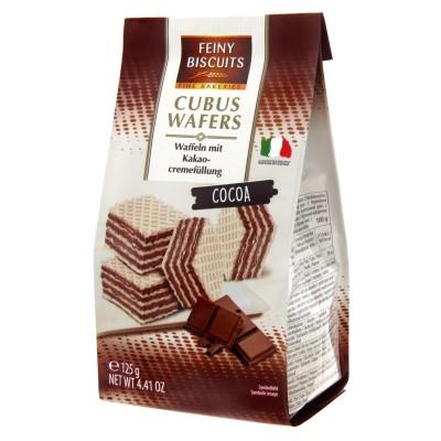 Cubus oplatky Kakao 125g Feiny