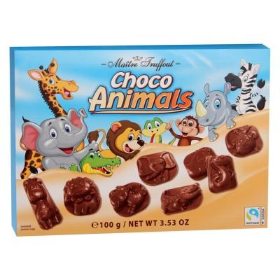 Mléčná čokoláda Choco Animals 100g Maitre