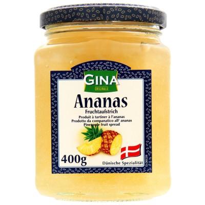 Ovocná pomazánka ananasová 400g Gina