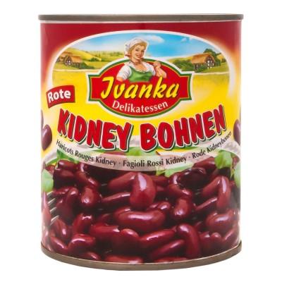 Červené fazole 800g Ivanka