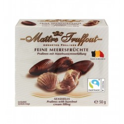 Mini pralinky mořské plody 50g Maitre