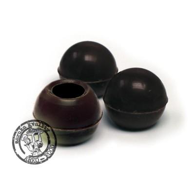 Skořápky na pralinky tmavé (25mm)