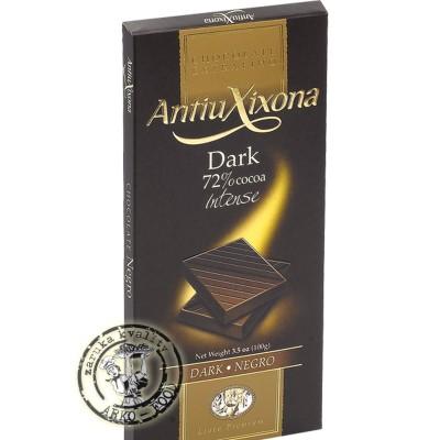 AX - Hořká čokoláda Intenso s 72 % kakaa, 100 g
