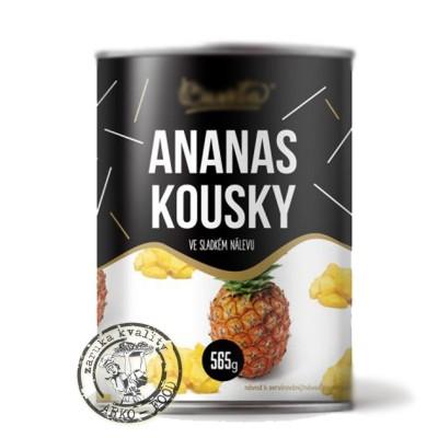 Ananas kousky 565 g