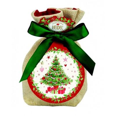 """""""Bílé vánoce"""" pralinky s nugátovou náplní 151g /jutový vak HD"""