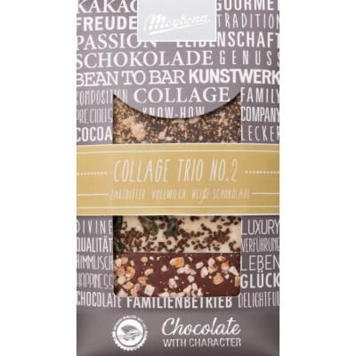 ME Trio II zdobená čokoláda 3x30g