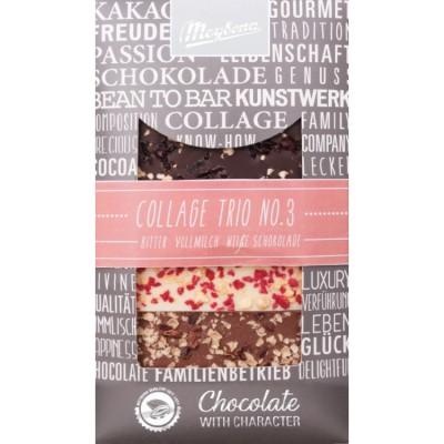 ME Trio III zdobená čokoláda 3x30g