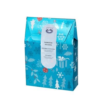 Vánoční koleda - dárková taštička čajů