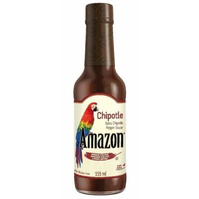 Amazon Chipotle Spicy Sauce - omáčka z Chipotle papriček 155ml