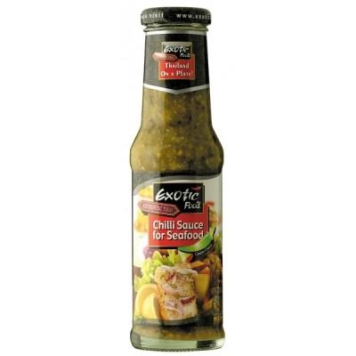 Chilli omáčka na mořské plody zelená 250ml