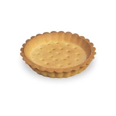 Košíček Tartellette Brisé máslový, kulatý 9cm (neutrální) 20ks