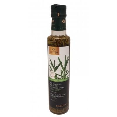 Olivový olej Extra panenský ochucený rozmarýnem - 250ml