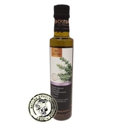 Olivový olej Extra panenský ochucený tymiánem - 250ml