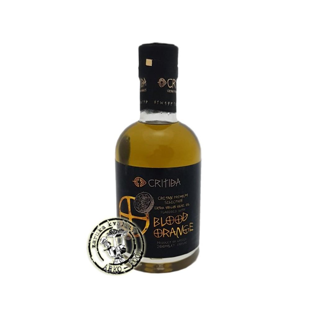 Olivový olej Extra panenský s pomerančem - 200ml