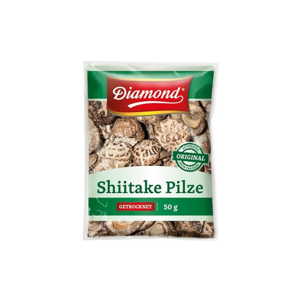 Shii take plátky sušené - 100g