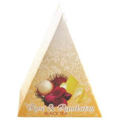 Čaj Rose & Rambutan 10x2g