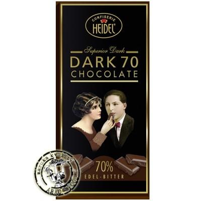 Heidel hořká čokoláda 70% 100g