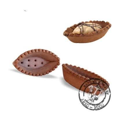 Lodička Barchette linecká 6,7cm (kakaová) 50 ks / kart