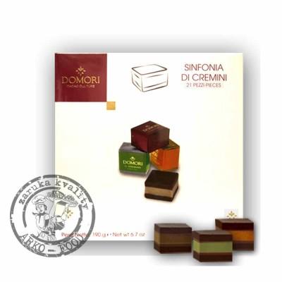 Bonboniéra Sinfonia di Cremini (různé příchutě) 190 g/bonboniéra