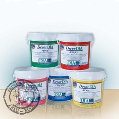 Želatina dekorační (hnědá) 1kg /kbelík