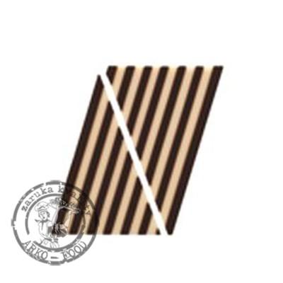 Domino trojúhelník - tmavá/bílá - 115 ks