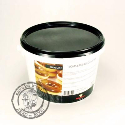 Elastická tuková poleva Souplesse VAJEČNÝ LIKÉR - 3 kg