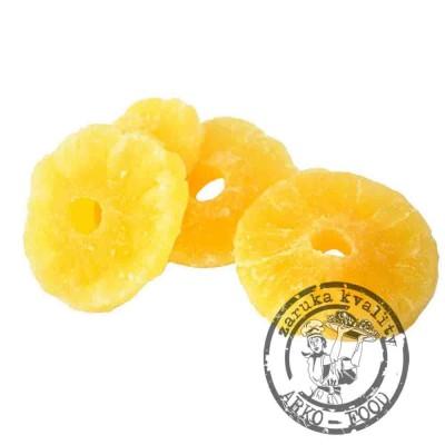 Ananas kroužky - 100g